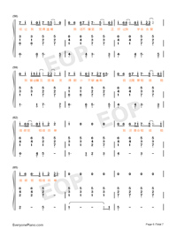 Believe-Stefanie Sun-Numbered-Musical-Notation-Preview-6