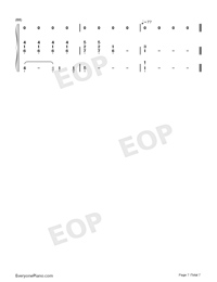 Believe-Stefanie Sun-Numbered-Musical-Notation-Preview-7