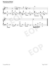 一半-雙世寵妃Ⅱ插曲五線譜預覽5
