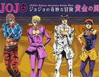 Fighting Gold-JoJo's Bizarre Adventure Golden Wind OP