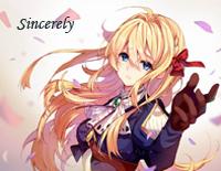 Sincerely-Violet Evergarden OP