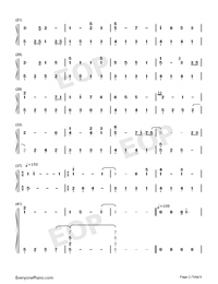 But You're Already Gone-Xeuphoria-Numbered-Musical-Notation-Preview-2