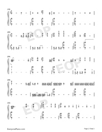 For When You Are Alone-Xeuphoria-Numbered-Musical-Notation-Preview-2