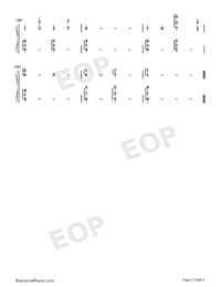 For When You Are Alone-Xeuphoria-Numbered-Musical-Notation-Preview-3
