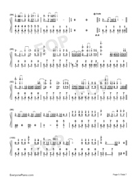 Hatsune Miku no Tomadoi-Numbered-Musical-Notation-Preview-5