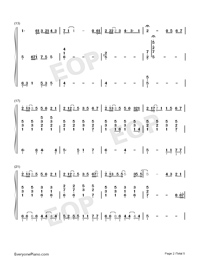 Chasing the Light-Accompaniment-Numbered-Musical-Notation-Preview-2