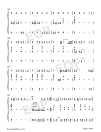 Chasing the Light-Accompaniment-Numbered-Musical-Notation-Preview-3
