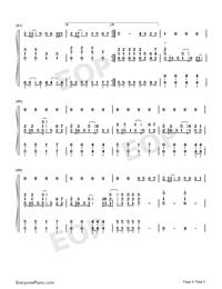 Chasing the Light-Accompaniment-Numbered-Musical-Notation-Preview-4