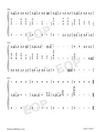 Chasing the Light-Accompaniment-Numbered-Musical-Notation-Preview-5