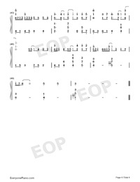 Everything I Need-Aquaman ED-Numbered-Musical-Notation-Preview-4