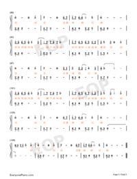 知否知否-知否知否應是綠肥紅瘦主題曲雙手簡譜預覽5