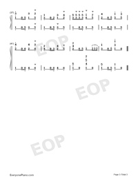 Habanera-Carmen-Numbered-Musical-Notation-Preview-3
