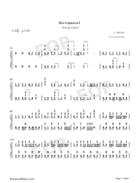 Hectopascal-Bloom Into You ED-Numbered-Musical-Notation-Preview-1