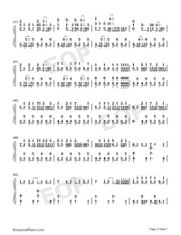 Hectopascal-Bloom Into You ED-Numbered-Musical-Notation-Preview-3