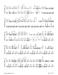 Hectopascal-Bloom Into You ED-Numbered-Musical-Notation-Preview-4