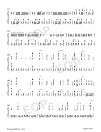 Hectopascal-Bloom Into You ED-Numbered-Musical-Notation-Preview-5