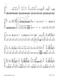 Hectopascal-Bloom Into You ED-Numbered-Musical-Notation-Preview-6
