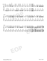 Hectopascal-Bloom Into You ED-Numbered-Musical-Notation-Preview-7