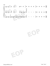 Shallow-A Star Is Born OST-Numbered-Musical-Notation-Preview-7