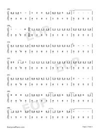 生僻字-簡單版-抖音熱歌雙手簡譜預覽2