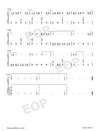 生僻字-完整版-抖音爆火雙手簡譜預覽6
