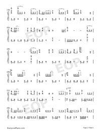 Far From You-Full Version-Numbered-Musical-Notation-Preview-2