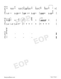 Far From You-Full Version-Numbered-Musical-Notation-Preview-4