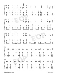Stranger Things-Kygo ft OneRepublic-Numbered-Musical-Notation-Preview-3