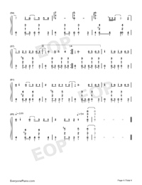 Drifting Poet-Jay Chou-Numbered-Musical-Notation-Preview-4