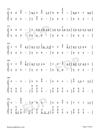 Machine-Imagine Dragons-Numbered-Musical-Notation-Preview-4
