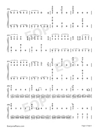 Spooky Scary Skeletons-Andrew Gold Free Piano Sheet Music