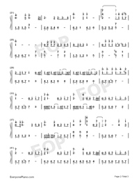 Fight for Future-Finding Soul Theme-Numbered-Musical-Notation-Preview-2
