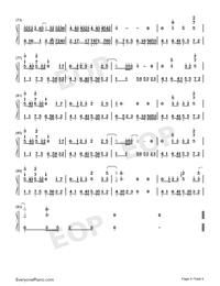 琵琶行-高考背書系列高三考生必聽曲目雙手簡譜預覽4
