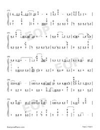 雪の華-求婚事務所〜Say Yes Enterprise〜OST両手略譜プレビュー2