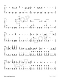 Arms Around You-Numbered-Musical-Notation-Preview-2