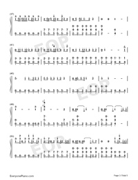 Arms Around You-Numbered-Musical-Notation-Preview-3