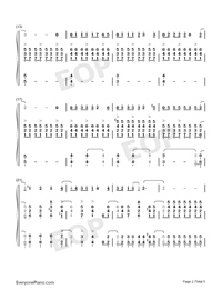 Pianist of Love-Numbered-Musical-Notation-Preview-2