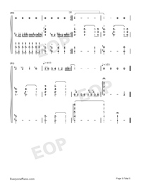Pianist of Love-Numbered-Musical-Notation-Preview-5