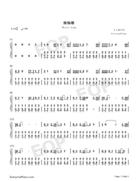 Worry Song-Jacky Cheung-Numbered-Musical-Notation-Preview-1