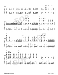 Natural-Imagine Dragons-Numbered-Musical-Notation-Preview-4