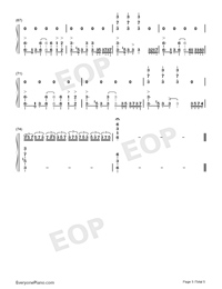 Natural-Imagine Dragons-Numbered-Musical-Notation-Preview-5