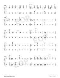 Stand-Zombies OST-Numbered-Musical-Notation-Preview-4