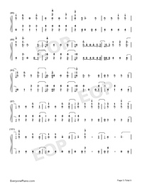 Stand-Zombies OST-Numbered-Musical-Notation-Preview-5