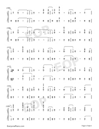 Stand-Zombies OST-Numbered-Musical-Notation-Preview-6