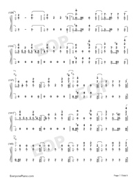 Stand-Zombies OST-Numbered-Musical-Notation-Preview-7