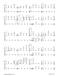 Stand-Zombies OST-Numbered-Musical-Notation-Preview-8