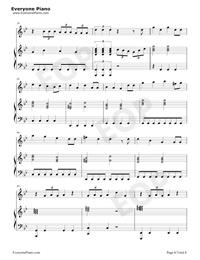 Bury a Friend-Billie Eilish五線譜プレビュー6