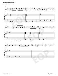 Bury a Friend-Billie Eilish五線譜プレビュー8