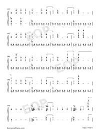 White with You-Summer Pockets OST-Numbered-Musical-Notation-Preview-3