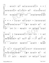 Premeditation-TikTok Hot Song-Numbered-Musical-Notation-Preview-2